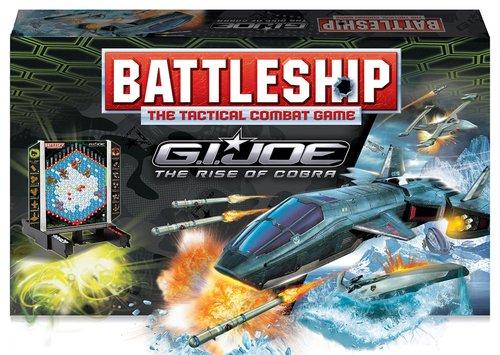Milton Bradley 2009 Battleship: G.I. JOE The Rise of Cobra Edition