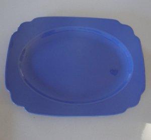 Vintage Homer Laughlin Riviera Blue Platter