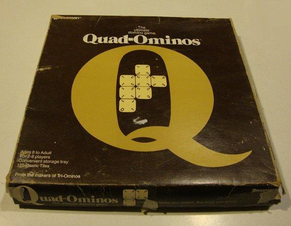 Vintage 1978 Pressman Quad-Ominos Game