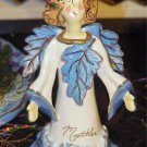 2003 Blue Sky Clayworks Mother Angel Ornament Bell