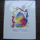 Joyce Gray Evans Cat Horoscope Print - Sagittarius - Feral Cat Rescue Benefit