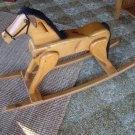 Vintage Wooden Hobby Horse / Rocking Horse