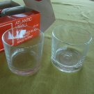Vintage Bormioli Atlantic Hiball Glasses - Set of 4 MIB