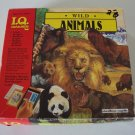 Vintage 1989 Educational Insights Wild Animals IQ Game
