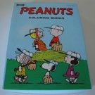 Vintage 1968 Saalfield Charles Schulz Peanuts Coloring Book Box Set of 4