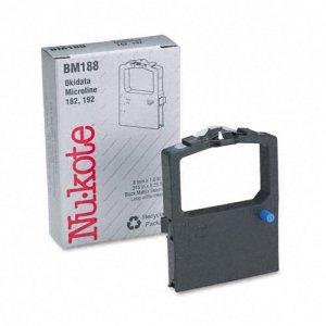 Nukote BM188 Printer Ribbon Cartridge Set of 2