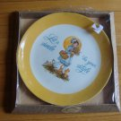 Vintage 1973 Gibson Dear Hearts Smile be your Style Collectors Plate in Orig Box