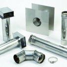 Genuine Bosch AQ3ES Horizontal Vent Kit for Bosch 2400 / 2700ES Tankless Water Heaters