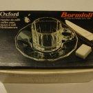 Vintage Bormioli Oxford Roberto Menghi Cup & Saucer - Set of 6 MIB