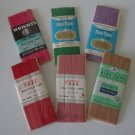 Vintage Bias Fold Tape Assortment of 6