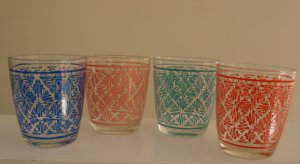 Federal Glass On the Rocks 8 oz. Tumblers - Set of 4