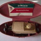 Vintage 1960 Singer Sewing Buttonholer Model # 489500