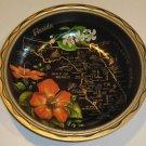 Vintage Florida Souvenir Metal Bowl