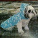 New Vo-Toys DoggieDuds It's Raining Dogs Outerwear Raincoat XXS