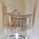 Vintage Glass Artist V. Cuthbert - Buffalo Historical Location Tumblers Set of 5