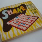 Vintage 1950 W.H. Shaper Mfg. Shake Game