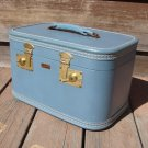 Vintage Atom-Lite Luggage Train Makeup Case