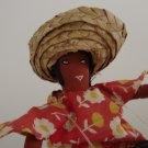 Vintage Souvenir Jamaica Doll Steel Drum