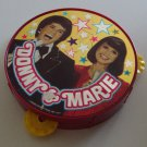Vintage 1977 Donny & Marie Plastic Tamborine
