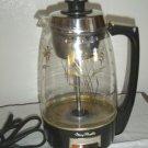 Vintage 1968 Mary Proctor Silex Lighted Coffee Perculator Model #01932