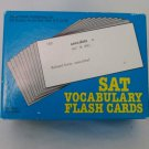 Vintage 1987 Amsco Vocabulary Flash Cards for the SAT