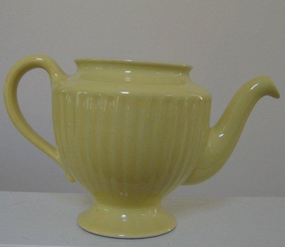 Vintage Hall Yellow Los Angeles Teapot (no Lid)