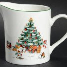 Vintage China Pearl Magical Christmas Creamer