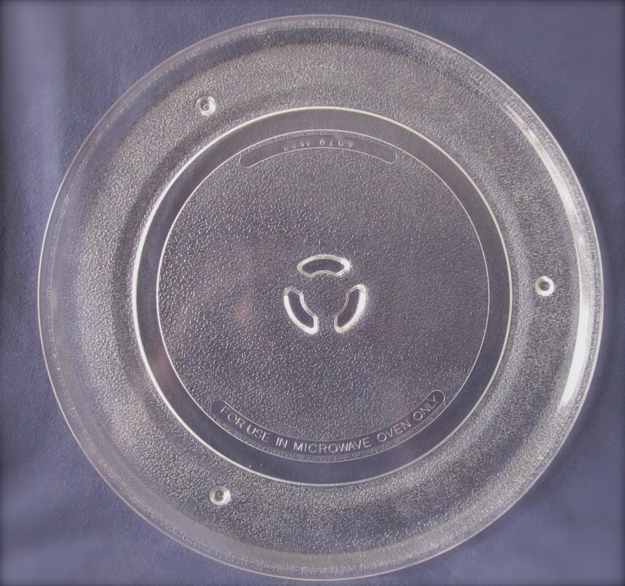 "Sharp Microwave Glass Turntable Plate / Tray 13 1/8"" #A034-12"