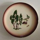 Vintage Brock of California Harvest Bread Plate - Set of 4