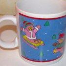 Vintage 1988 Telco Musical Christmas Mug