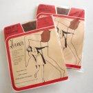Vintage Lerner Shops Cantrece II Non-Run Panty Hose