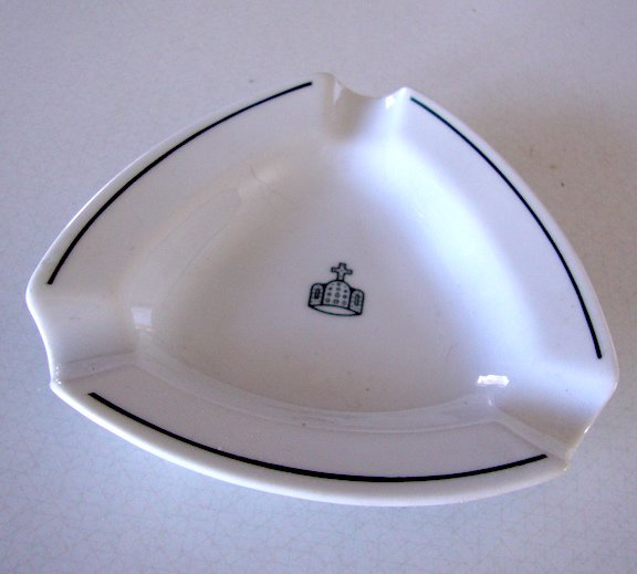 Imperial Palace Emperor's Crown BAUSCHER WEIDEN Ashtray