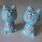 Vintage Giftcraft Toronto Ceramic Cat Salt & Pepper Shakers - Japan