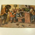 Reproduction Advertising Tin Sign Dog Teacher with Puppy Students