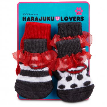 NWT Petco Harajuku Lovers Lips Socks for Dogs M/L 2481717
