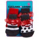 NWT Petco Harajuku Lovers Lips Socks for Dogs XS/S #2481709
