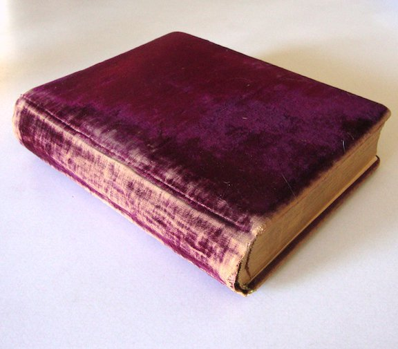 Antique 1885 Velvet Victorian Photo Album Henry D. Schermerhorn Hammond NY