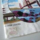 Vintage NOS KAY DEE San Francisco R.Batchelder Tea Towel