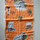 Vintage Niagara Falls Canada Tea Towel