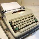 Vintage Olympia Deluxe SM9 Portable Typewriter & Case