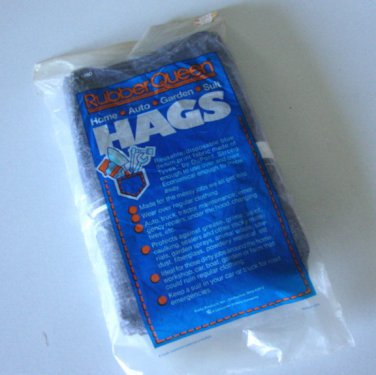 NOS - Vintage 80s Rubber Queen HAGS Tyvek Overall Suit Size S