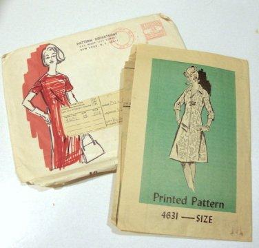 Vintage 1975 Mail Order Sewing Patterns  Set of 4