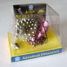 NWT Action Aquarium Bubblers Polyresin Handmade Painted Puffer Fish