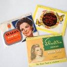 Vintage Human Hair Net - Set of 3