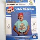Vintage 1990 Super Mario Bros Iron-On Color Transfer Nintendo's Bowser #57826