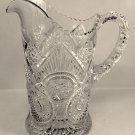 Vintage Imperial Glass EAPG Horseshoe Curve Water Pitcher #411