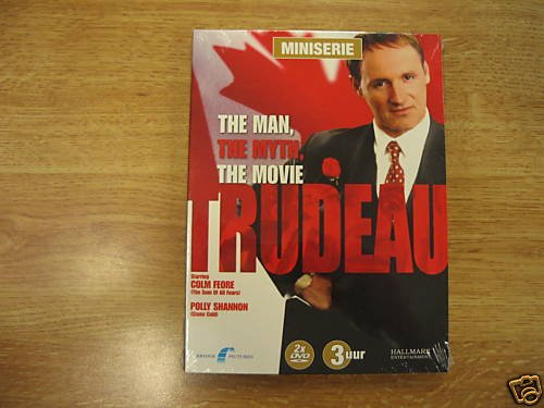 Trudeau (2002, 2-disc) Colm Feore R2 New DVD