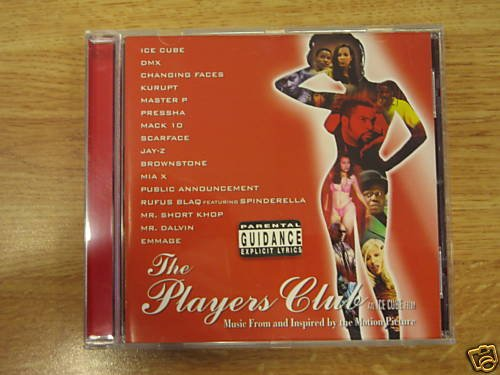 the Players Club (Ice cube) original soundtrack CD New