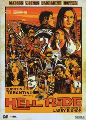 Hell Ride (2008, Michael Madsen, Tarantino) R2 New DVD