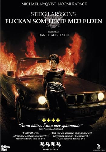 The Girl Who Played with Fire (Stieg Larsson) NEW DVD